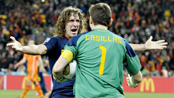 Casillas/Puyol