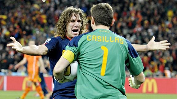 Casillas/Puyol