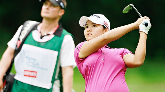 Yani Tseng, last year's LPGA Championship winner, said the course is much tougher this year.