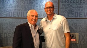 Scott Van Pelt and Curtis Strange