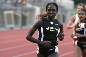 Aliphine Tuliamuk realized she had a talent for running after she defeated her older sister in a competition at school.