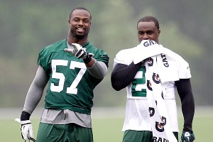 Bart Scott, Shonn Greene