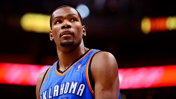 kevin durant top 10 players in the nba