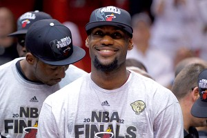 LeBron James' handling of his departure to the Miami Heat still has our writers and fans rooting against him.