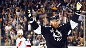 Jeff Carter of the Los Angeles Kings