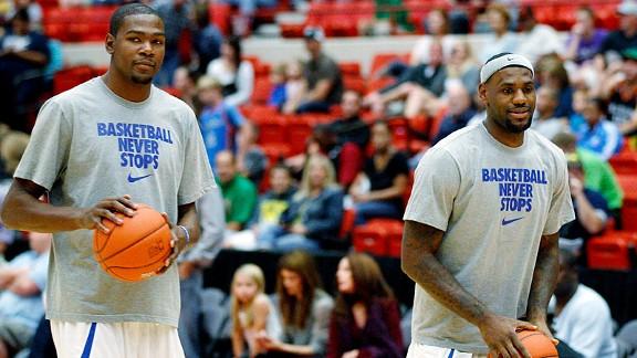 Kevin Durant & LeBron James