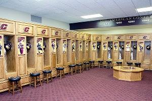 Central Michigan lockerroom