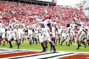 Georgia touchdown