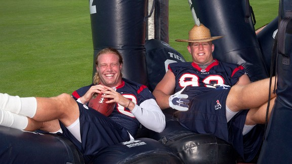 Brooks Reed and JJ Watt