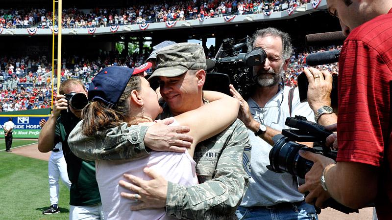 Braves Military Family Reunion