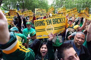 Seattle Sonics rally