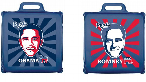 Presidential seat cushion