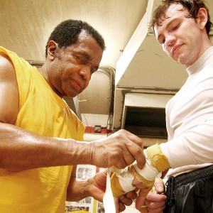 Emanuel Steward and Andy Lee