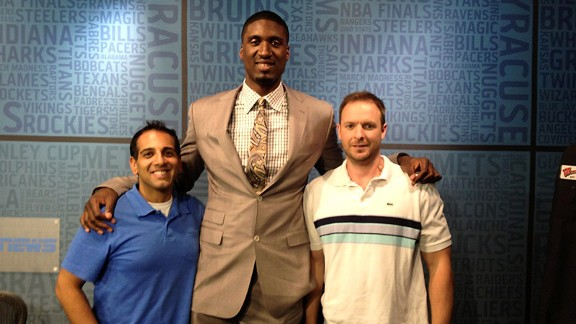 Hibbert with Virk and Russillo