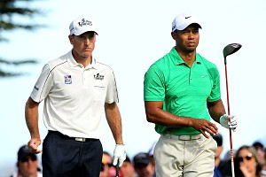 Tiger Woods and Jim Furyk