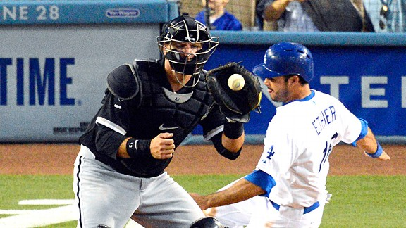 A.J. Pierzynski and Andre Ethier