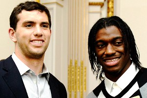 Andrew Luck, Robert Griffin