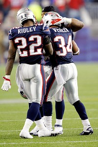 Shane Vereen and Stevan Ridley