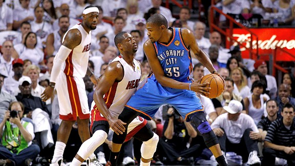 Dwayne Wade & Kevin Durant