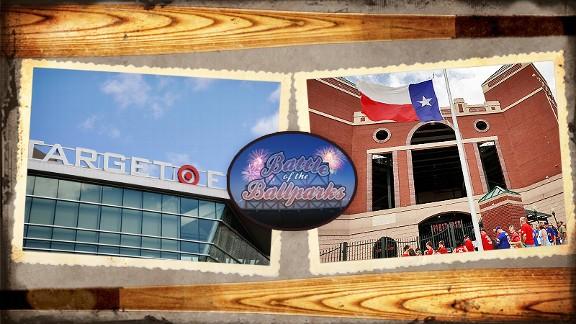 Target Field vs. Rangers Ballpark