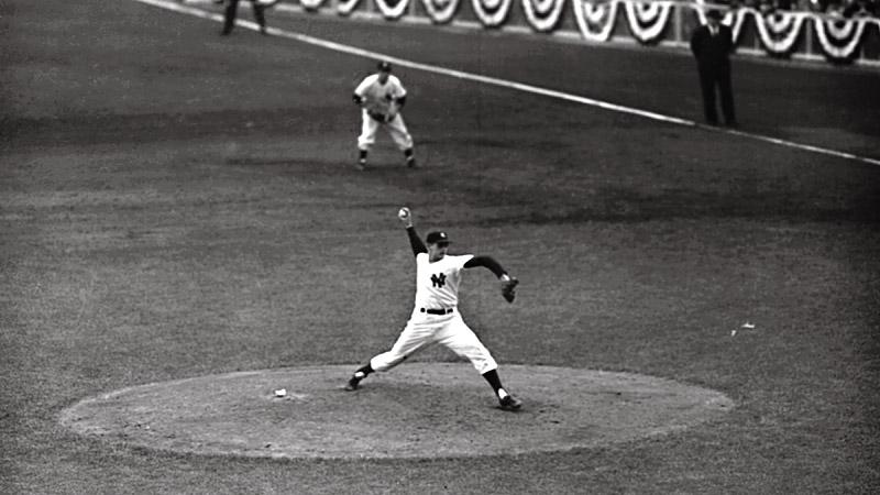 Don Larsen, 1956 World Series