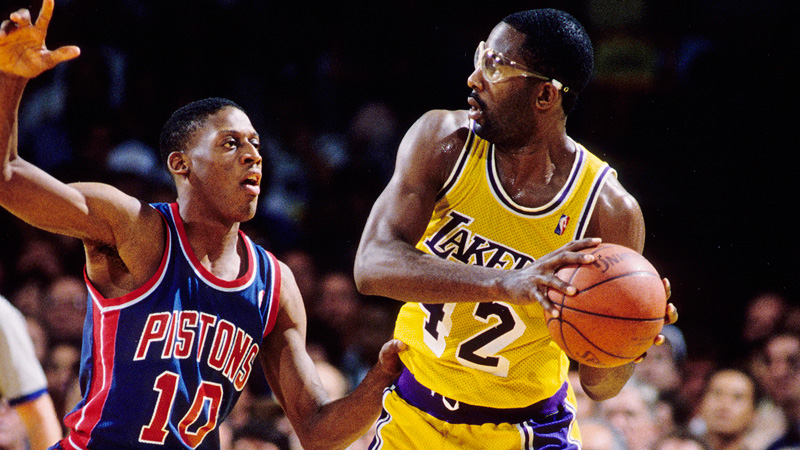 14. James Worthy, Lakers - Top 25 Playoff Performances - ESPN