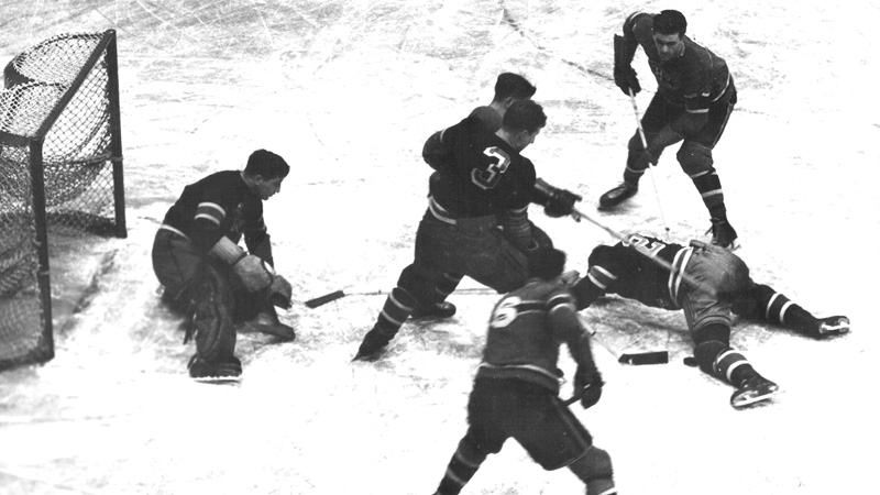 Maurice Richard 1944 Stanley Cup semifinals