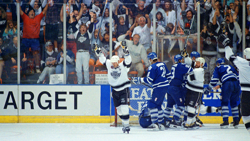Wayne Gretzky 1993 Campbell Conference Finals