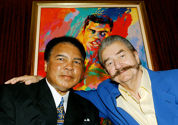LeRoy Neiman and Muhammad Ali