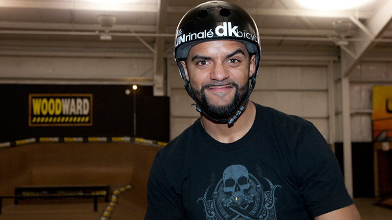 Mykel Larrin is invited as an alternate in the BMX Vert field at X Games Los Angeles.