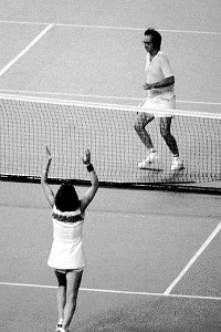 Billie Jean King's victory inspired women to take to the tennis court -- and the running course and the gym -- by the millions.
