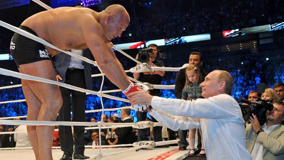 Fedor Emelianenko, Vladimir Putin
