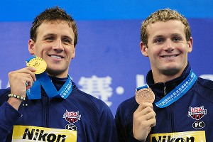 Ryan Lochte and Tyler Clary