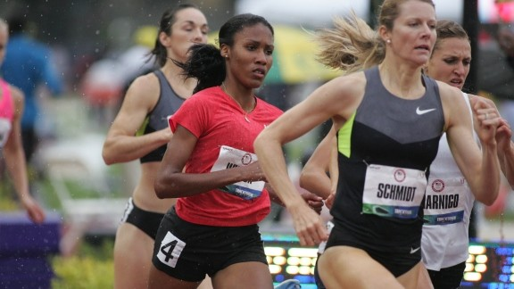Ajee Wilson 2012 Olympic Trials