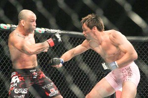Rich Franklin and Wanderlei Silva