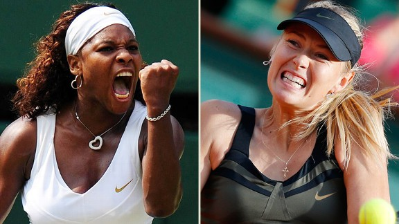 Serena Williams, Maria Sharapova