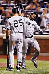 Mark Teixeira and Robinson Cano.