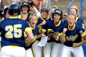 Michigan softball 2005
