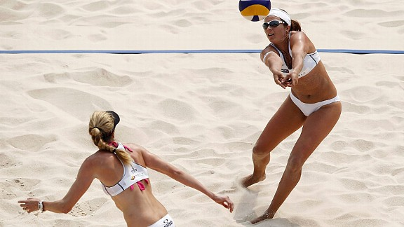 Misty May-Treanor and Keri Walsh