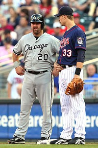 Kevin Youkilis and Justin Morneau