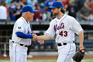 R.A. Dickey & Terry Collins