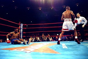 Pernell Whitaker and Felix Trinidad