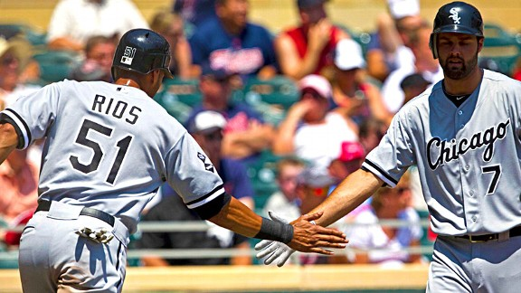 Alex Rios and Jordan Danks