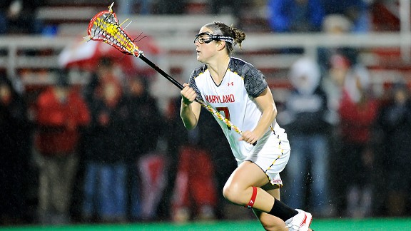 Katie Schwarzmann grew up in lacrosse-crazed Maryland, looking up to two sisters who played at Johns Hopkins.