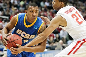 Orlando Johnson leaves UCSB owning the school's major scoring records and, most important, a college degree.