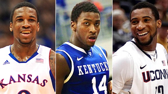 Thomas Robinson, Michael Kidd-Gilchrist & Andre Drummond