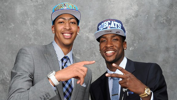 Anthony Davis and Michael Kidd-Gilchrist
