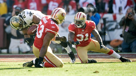 Donte Whitner & Pierre Thomas