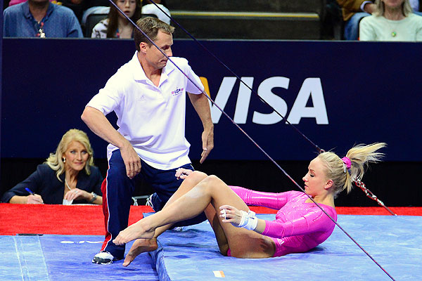 2012 Summer Olympics -- Olympic hopes slip away for Nastia Liukin