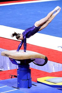 McKayla Maroney was her usual spectacular self on the vault Friday night, which might be enough to make the U.S. team.
